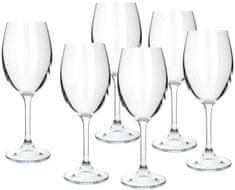 Banquet set kozarcev za belo vino Leona, 340 ml, 6 kosov