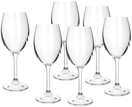 Banquet kieliszki do białego wina Leona 340 ml, 6 szt.