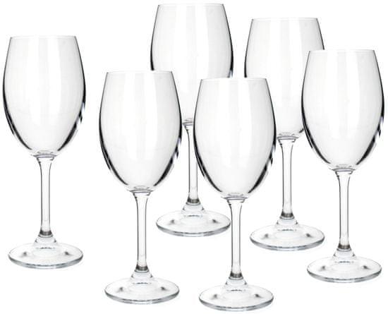 Banquet sklenice na bílé víno Leona 340 ml, 6 ks