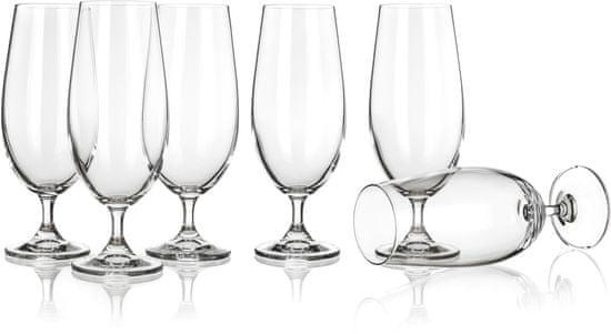 Banquet čaše za pivo Leona, 370 ml, 6 komada