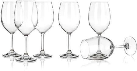 Banquet set kozarcev za rdeče vino Leona, 430 ml, 6 kosov