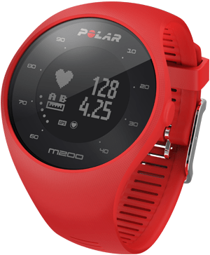 Polar športna ura M200, M/L, rdeča