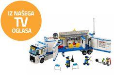 LEGO® City 60044 Mobilna policijska enota