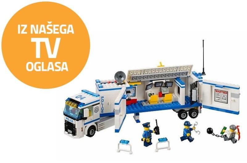 LEGO® CITY 60044 Mobilní policejní stanice