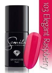 Semilac lakier hybrydowy 103 Elegant Raspberry - 7 ml
