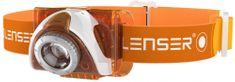 LEDLENSER latarka czołowa SEO 3 orange