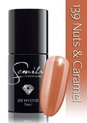 Semilac lakier hybrydowy 139 Nuts & Caramel - 7 ml