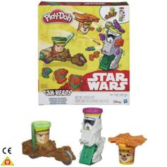 Play-Doh Star Wars Misja na Endor Can-Heads B0002