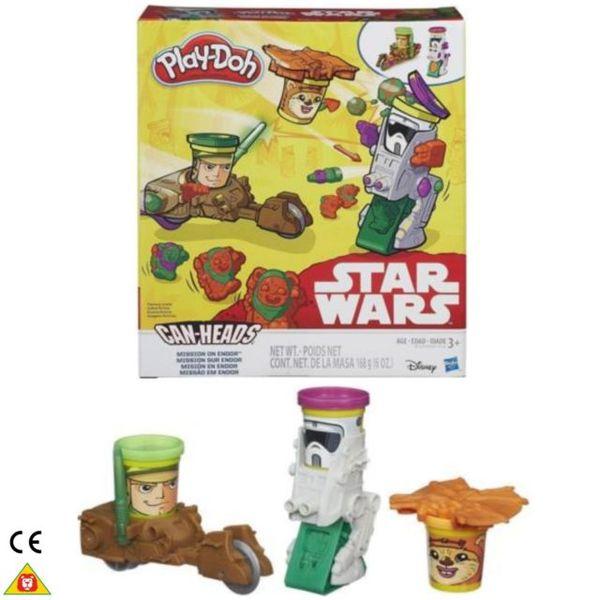 Play-Doh SW vozidla dvojbalení mise na endoru