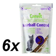Canvit Snack CAT Hairball 6 x 100g