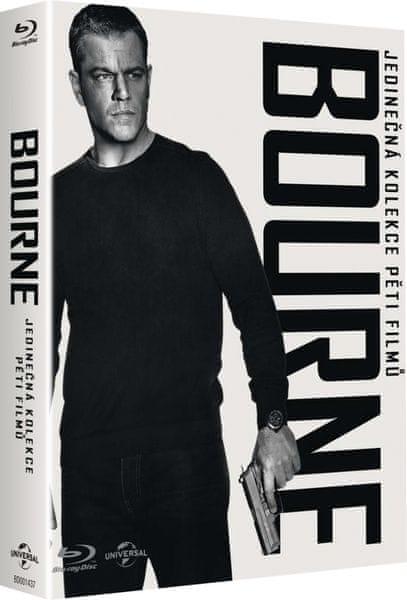 Kolekce Bourne (5 BD + DVD bonus disk) - Blu-ray
