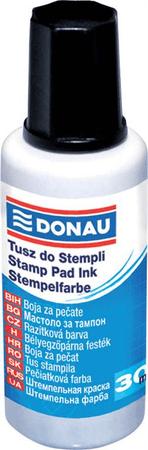Donau barva za žige, 27 ml, črna