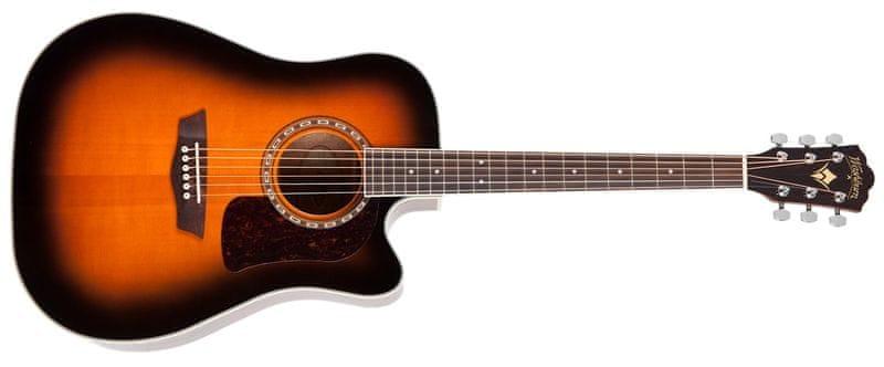 Washburn Heritage HD10SCETB Elektroakustická kytara
