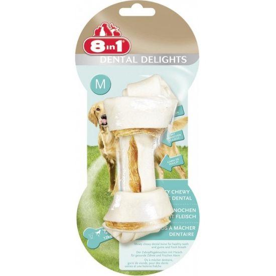 8in1 Kości do żucia Dental Delights M 6 sztuk