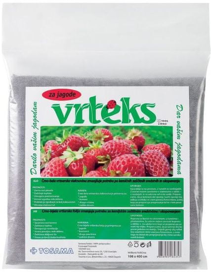 TOSAMA Vrteks za jagode 108x400 cm