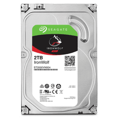 Seagate trdi disk NAS IronWolf, 2TB, SATA 3, 6Gb/s, 64MB