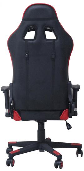 Hyle Uredski stolac Racing Pro 8928, crno-crveni