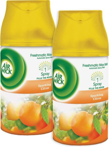 Air wick Freshmatic Max náhradní náplň Citrus 250 ml, 2 ks
