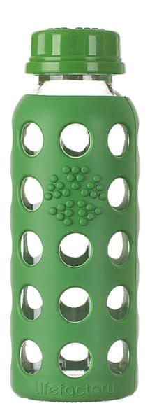 Lifefactory Dětská láhev 250 ml Grass Green