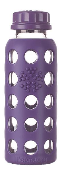 Lifefactory Dětská láhev 250 ml Purple