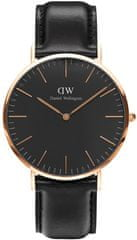 Daniel Wellington Classic Black Sheffield Rose Gold DW00100127