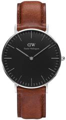 Daniel Wellington Classic Black St Mawes Silver DW00100131