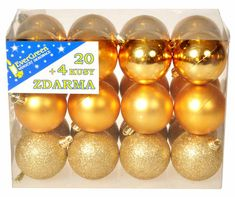 EverGreen Set krogel 3 dodatka 24 zlat