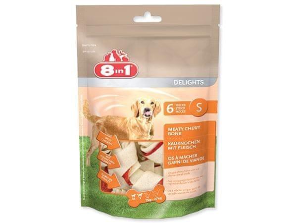 8in1 Kost žvýkací Delights S bag 6ks