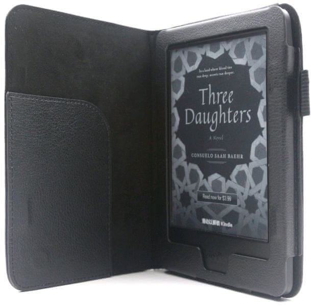 C-Tech pouzdro pro Amazon Kindle 8, černé (AKC-11) - II. jakost
