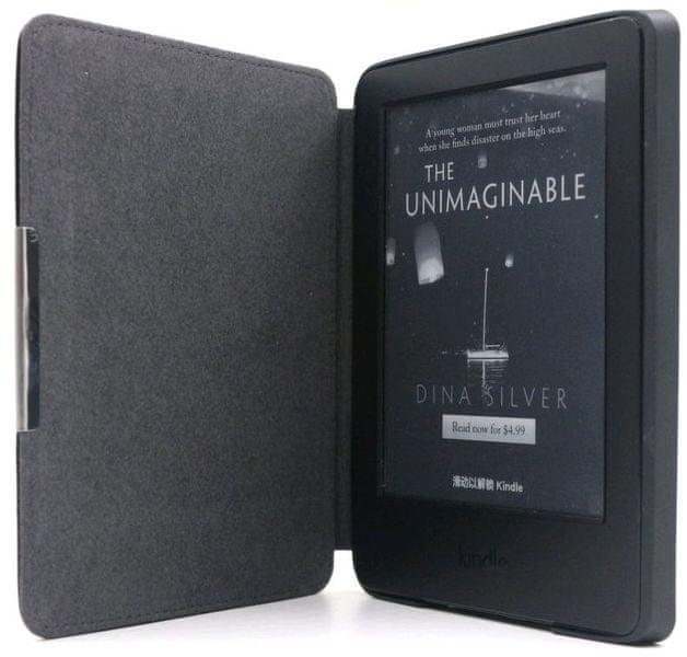 C-Tech pouzdro pro Amazon Kindle 8, hardcover, černé (AKC-12BK)