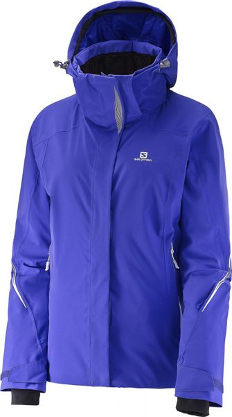 Salomon Brilliant Jkt W Phlox Violet L