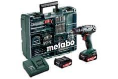 Metabo akumulatorska bušilica-odvijač BS 14,4 V s priborom (602206880-ATP)