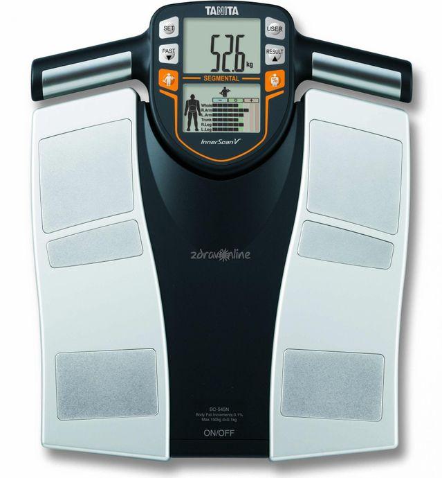Multifunkční váha provede analýzu řady tělesných parametrů