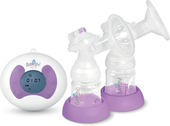 BAYBY BBP 1020 Elektrická 2-fázová odsávačka mléka + 3x sáčky