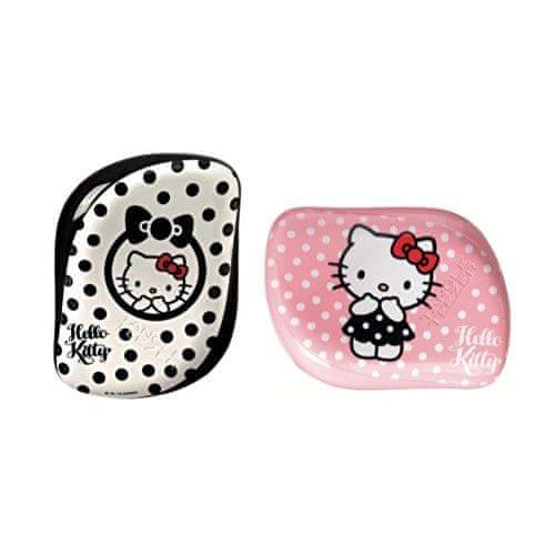 Tangle Teezer Profesionální kartáč na vlasy Tangle Teezer Hello Kitty (Compact Styler) (Varianta černo-bílý)