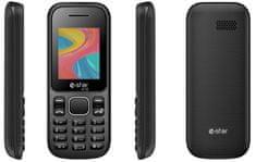 eSTAR A18, Dual SIM, černý