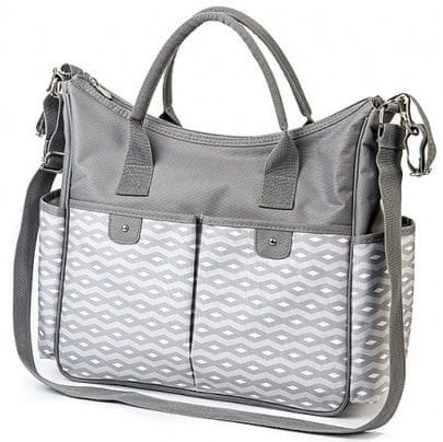 BabyOno Torba na pieluchy So City!, Grey