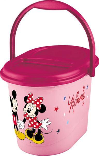"OKT Koš na pleny ""Mickey&Minnie"", Pink"
