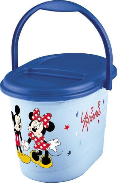 """OKT Koš na pleny """"Mickey&Minnie"""", Blue"""