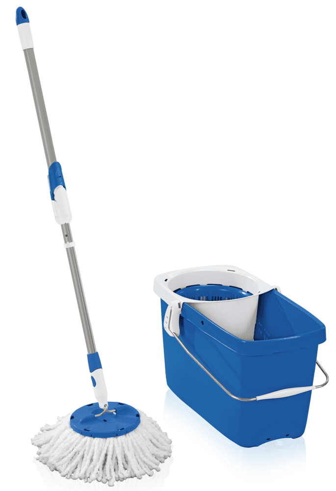 Leifheit Set Clean Twist Disc Mop modrá