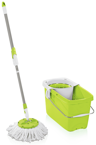 Leifheit Set Clean Twist Disc Mop zelená