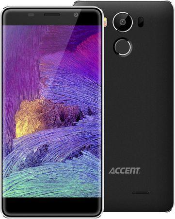 ACCENT Neon, DS, 2 GB / 16 GB, černý - rozbaleno