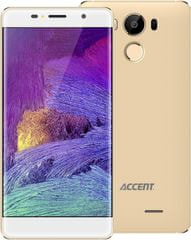 ACCENT Neon, Dual SIM, 2 GB/16 GB, zlatý - rozbaleno