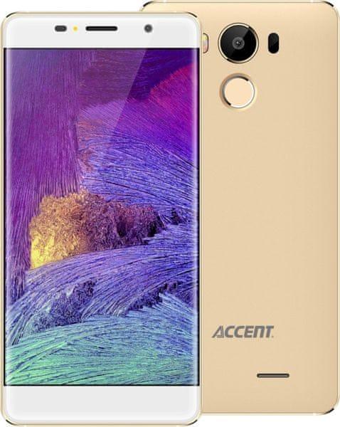 Accent Neon, Dual SIM, zlatý