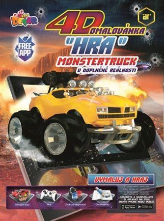 autor neuvedený: 4D hra - omaľovanka Monster Truck
