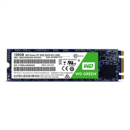 WD SSD disk Green M.2 2280, 120 GB (WDS120G1G0B)