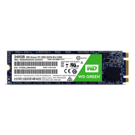 WD SSD disk Green M.2 2280, 240 GB (WDS240G1G0B)