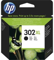 HP 302XL Fekete tintapatron (F6U68AE)