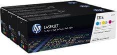 HP č.131A trojbalení originálních tonerových kazet LaserJet(U0SL1AM)