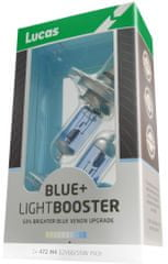 Lucas LightBooster H7 12V 55W +50% Blue 2ks